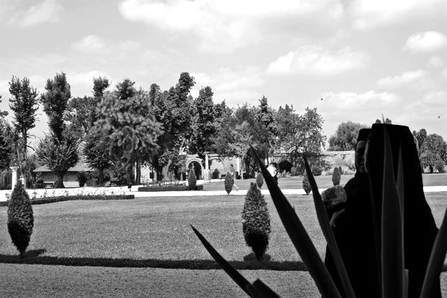 Monjas rumanas blanco y negro Mogosoaia Rumanía
