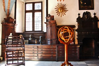 Cámara astronomía Nicolás Copérnico Collegium Maius 1 Cracovia