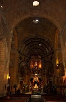 Interior Santurario Virgen Mar Almería
