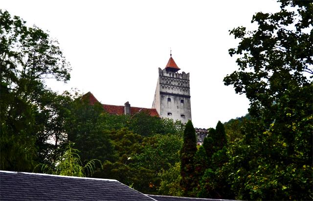 Panorámica Castillo Bran Drácula Rumanía
