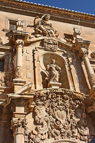 Puerta Universidad Colegio Santo Domingo Alicante
