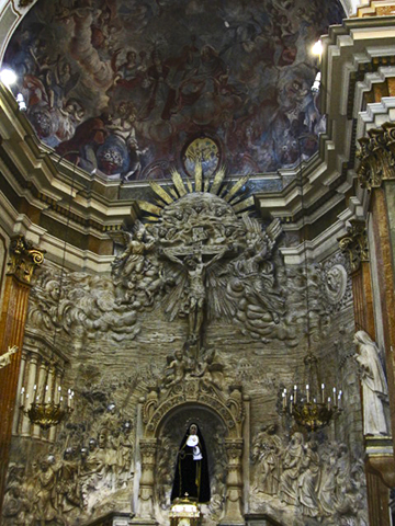 Claustro barroco parroquia Asunción nuestra Señora Onda Castellón