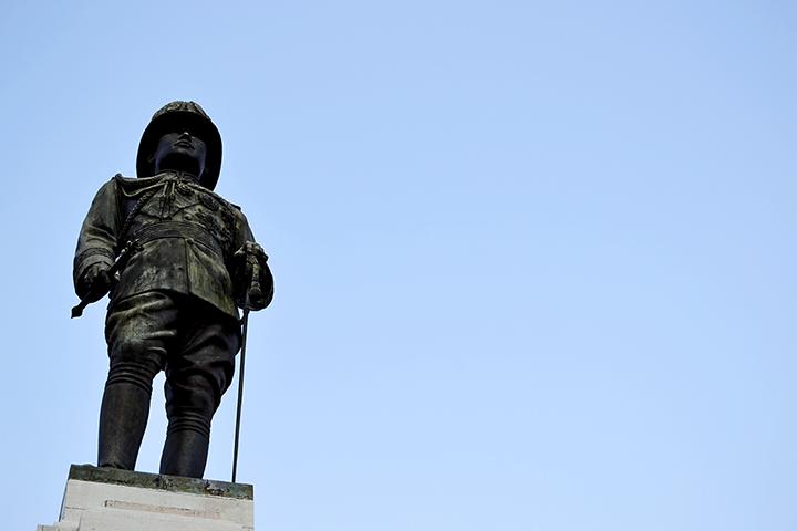Rama VI estatua parque Lumphini
