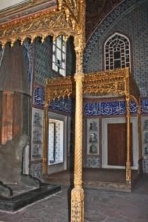 Decoración interior harén Palacio Topkapi Estambul