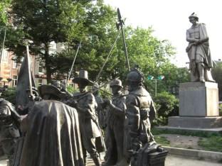 Esculturas Rembrandt Plein Amsterdam