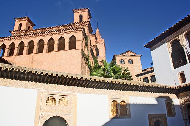 Construcciones típicas Pueblo Español Palma Mallorca