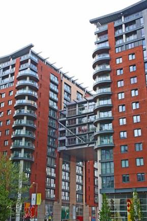 Bloque apartamentos Gartside Manchester