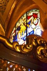 Vidrieras interiores Museo San Juan de la Cruz Úbeda Jaén