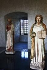 Esculturas virgen santo religión Museo Museo Castelvecchio Verona