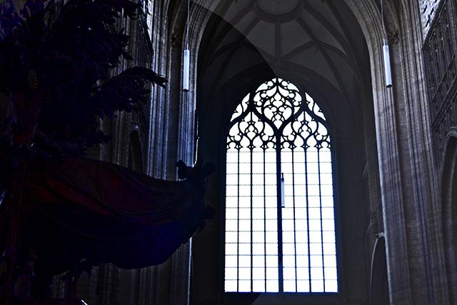 Ventana interior Iglesia San Pedro Lovaina