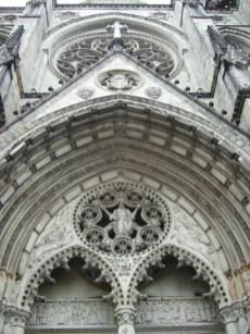 Fachada Catedral San Juan El Divino Harlemn Nueva York