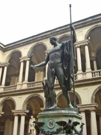 Escultura Napoleón Pinacoteca di Brera Milán