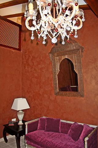 Suite árabe Al Azraq hotel con encanto Capricho Portuguesa Alicante
