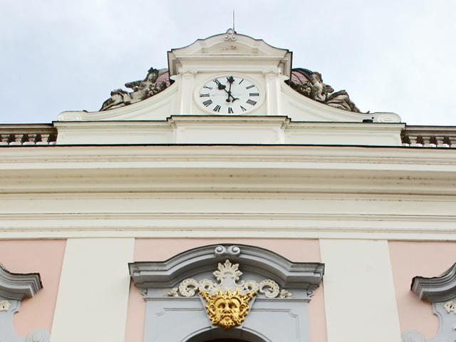 Palacio Real de Godollo detalle barroco
