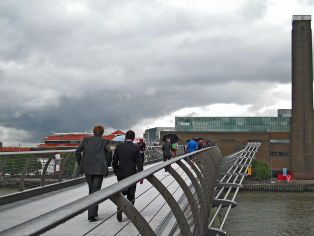 Puente Milenio Tate Modern Londres