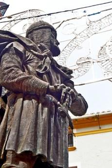 Escultura cristiano gris fiestas Caravaca de la cruz Murcia