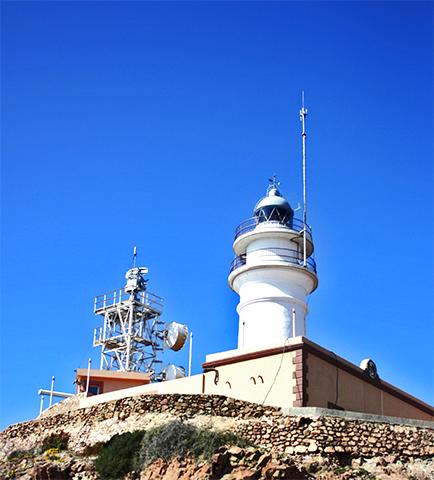 Faro Cabo de Gata Arrecife Sirenas Almería