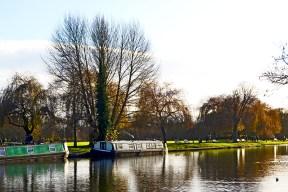 Barcos casa río Avon Bancroft Gardens Stratford-Apon-Avon