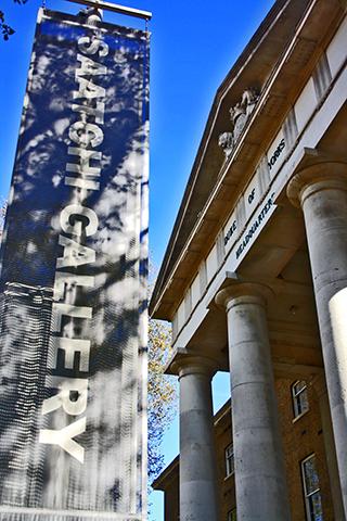 Entrada Saatchi Gallery Londres