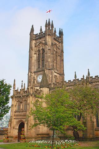 Catedral iglesia medieval de Santa María Manchester