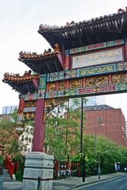 Puerta Chinatown Manchester