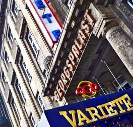 Entrada rótulos Teatro GOP Georgestrasse Hannover Alemania