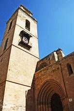 Torre de la Catedral junto al Palacio Espiscopal