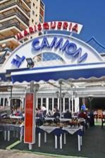 Marisquería restaurante El Camión puerto deportivo Calpe