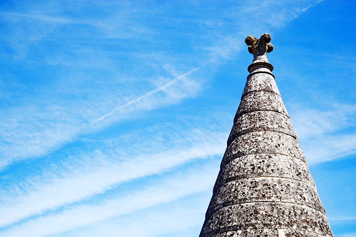 Torre piedra decoración Amboise Francia