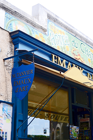 Comercio tradicional calles Blois Francia