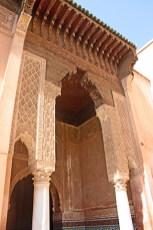 Puerta entrada Tumbas Sadíes Marrakech