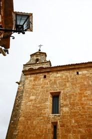 Fachada piedra edificios Alarcón Cuenca