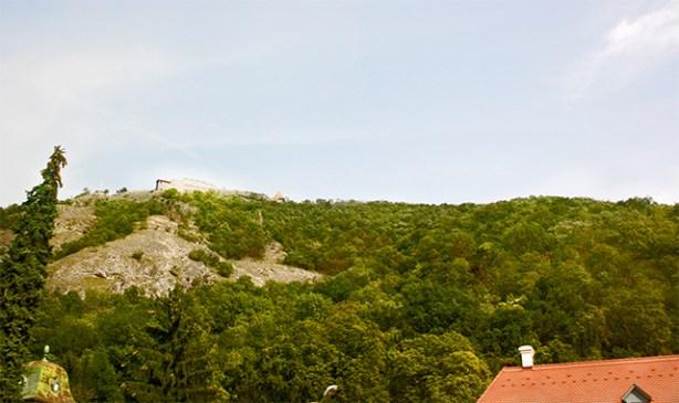 Ruinas ciudadela Visegrád