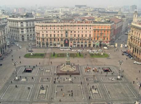 Panorámica Plaza Duomo Milán