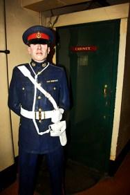 Guardián Churchill Cabinet War Londres