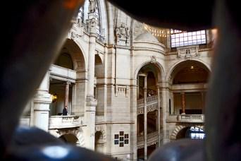Weite und 10 Millionen Frames unterstutzen die Majestat des das Neue Rathaus