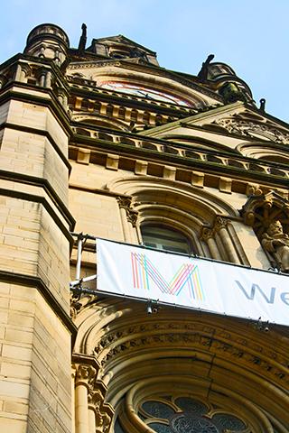 Fachada ayuntamiento Manchester