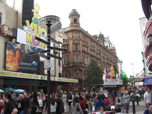 Gente musicales teatros West End Londres