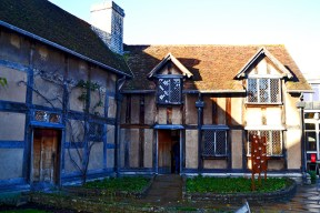 Casa natal William Shakespeare teatro Stratford-Apon-Avon