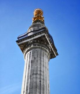 Columna gran incendio 1666 Liverpool