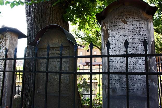 Tumbas cementerio judío Remuh barrio Kazimierz Cracovia