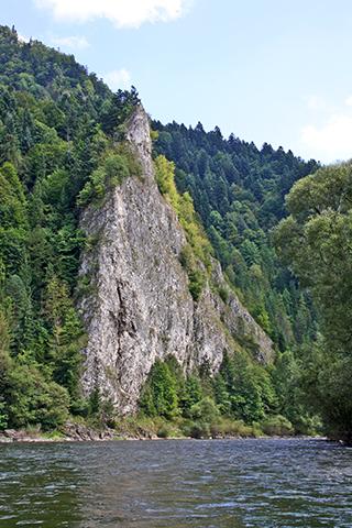 Desfiladero Parque Nacional Dunajec Cracovia Polonia