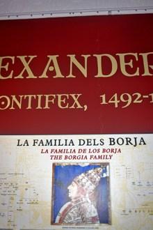 Documento familia Los Borgia Xàtiva Valencia