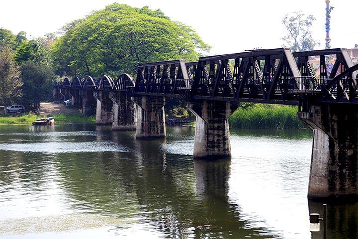 Puente sobre el río Kwae Kanchanaburi