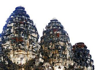 Torres ruinas templo sagrada monos