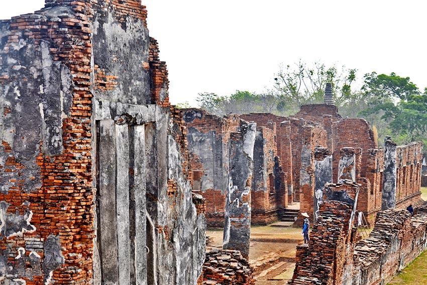 Ruinas reino Siam Ayutthaya