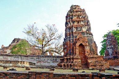Mazorca maís estilo Camboya Wat-Phra-Ram Ayutthaya