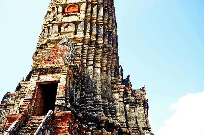 Puerta mazorca maíz Ayutthaya Tailandia