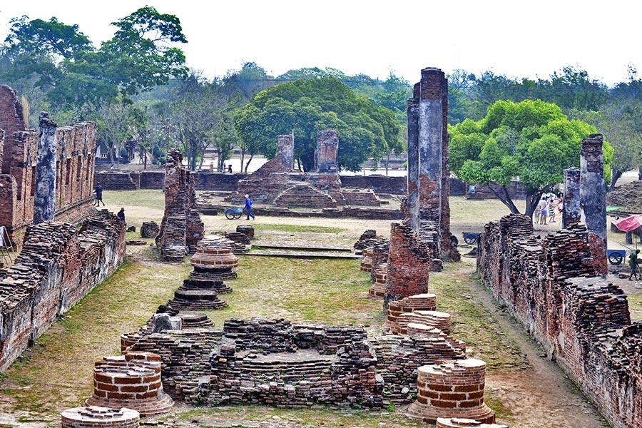 Ruinas templos Ayutthaya