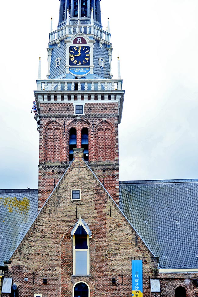 Torre reloj Casa del Peso Alkmaar
